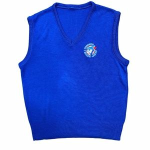 Toronto Blue Jays Sweater Vest Men's Small
